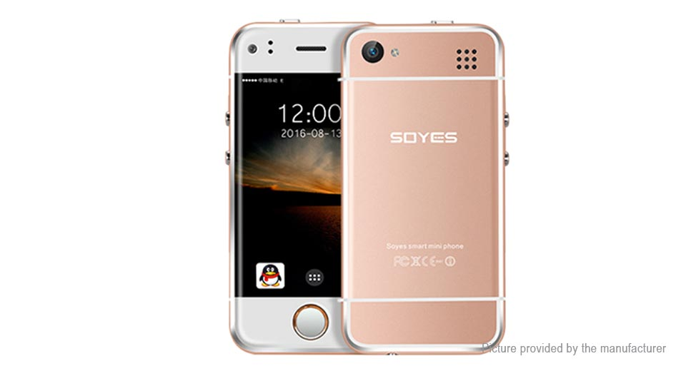 SOYES 6S Mini 2.4'' Dual-Core Lollipop GSM Smartphone (8GB)