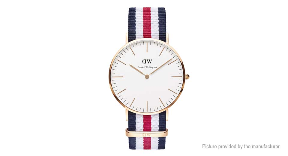 Daniel Wellington Men's Nylon Band ...
