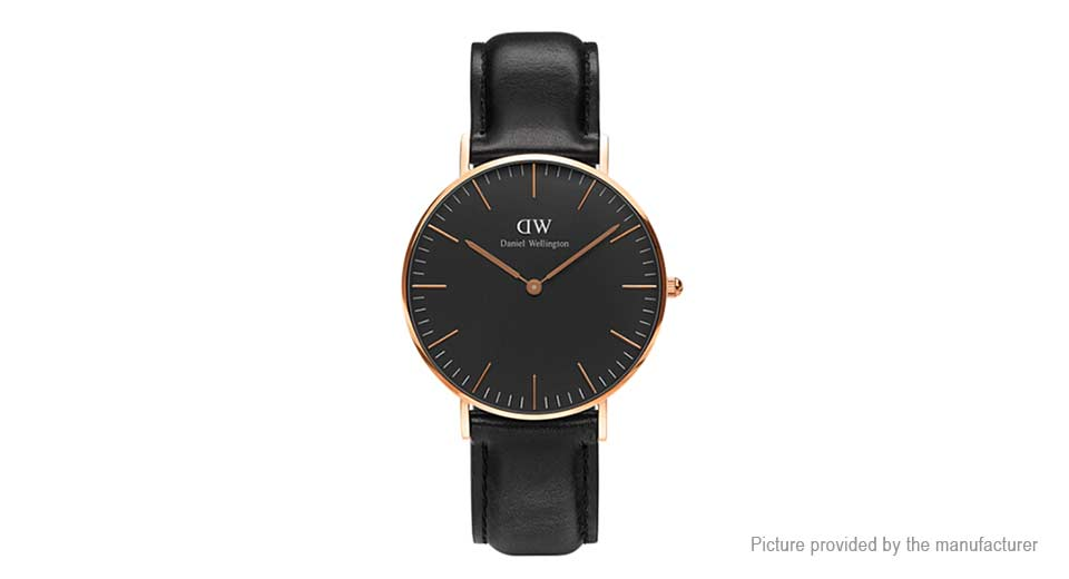 Daniel Wellington Women's Leather Band ...