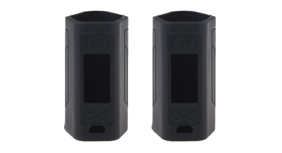 Protective Silicone Sleeve Case for Wismec Reuleaux RX GEN3 300W Mod (2-Pack) RX GEN3 300W, Silicone, Black, 2-Pack