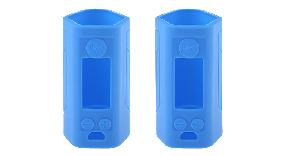 Protective Silicone Sleeve Case for Wismec Reuleaux RX GEN3 300W Mod (2-Pack) RX GEN3 300W, Silicone, Blue, 2-Pack