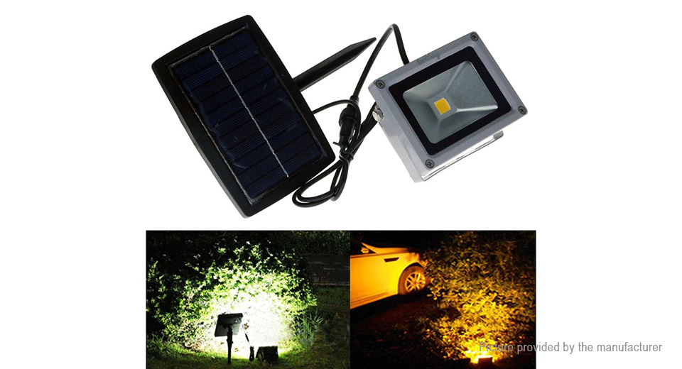 YouOKLight YK0957 10W Outdoor Solar Powered LED Floodlight