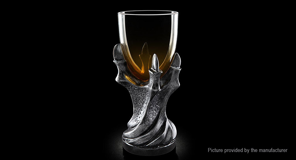 Game of Thrones Dragon Claw Styled Resin Glass Goblet (400ml)