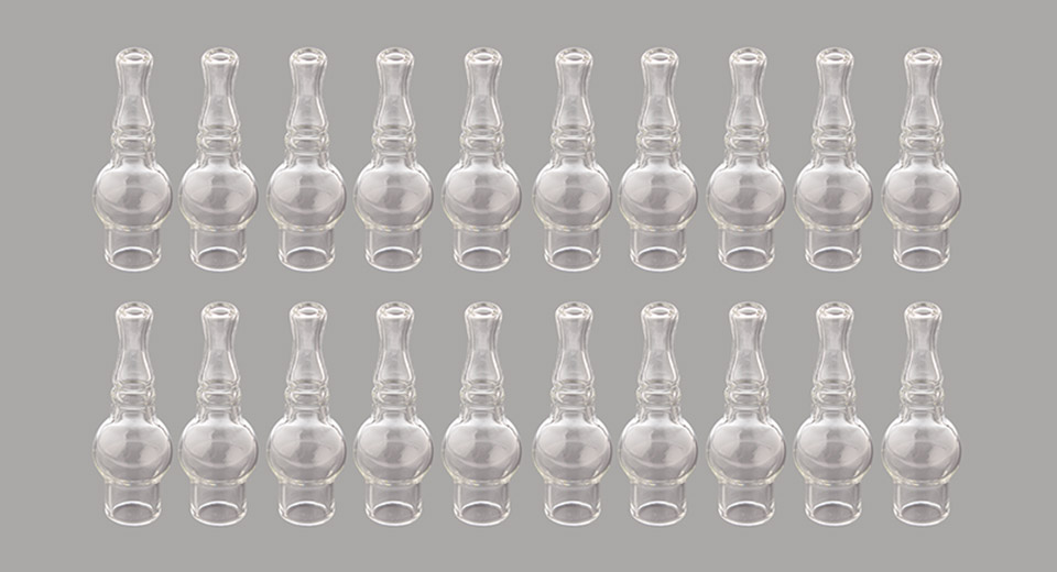 Glass Mini Smoking Shisha Hookah Water Pipe (20-Pack)