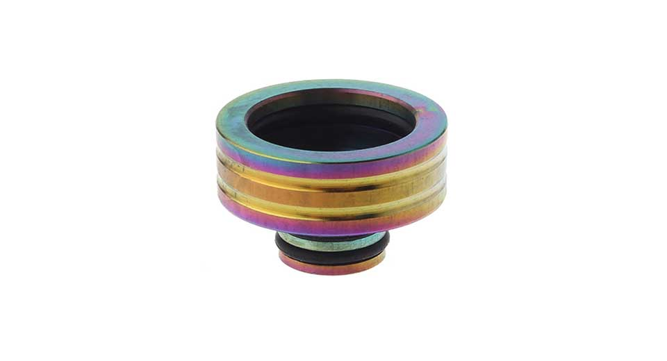 Stainless Steel 510 to 810 Drip Tip Adapter