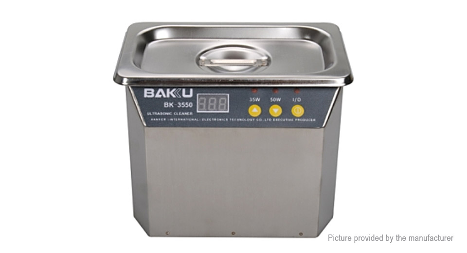 BK-3550 35W/50W AC 220V Stainless Steel Ultrasonic Cleaner (EU)