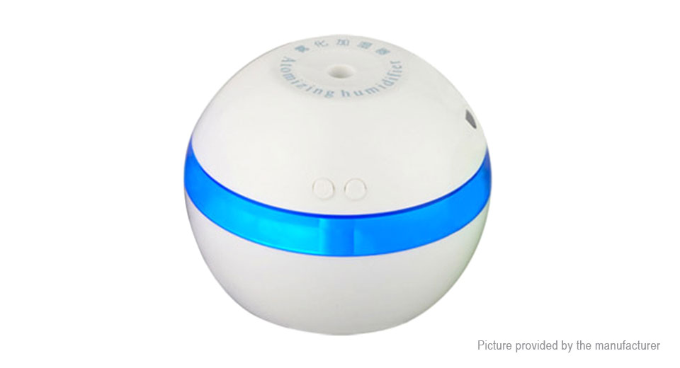 Portable Mini USB Air Humidifier Ultrasonic Aroma Diffuser