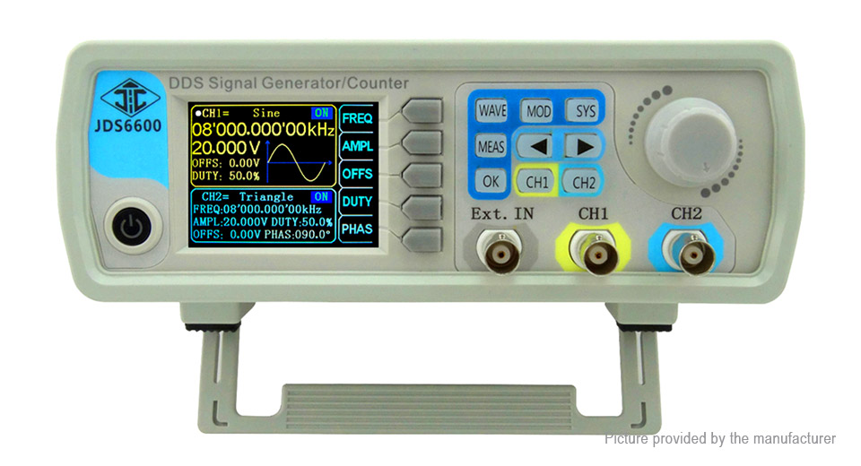 Product Image: ruideng-jds6600-dds-signal-source-dual-channel