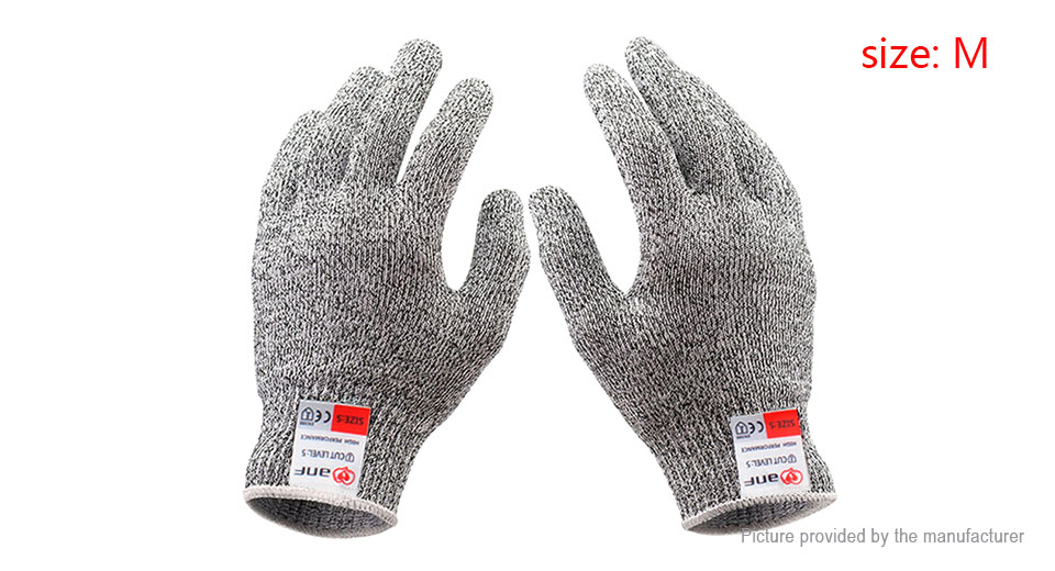 Image of Anti-skid Full Finger Protective Gloves (Size M/Pair)