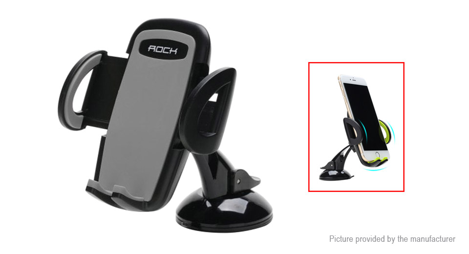 ROCK Car Windshield Suction Cup Mount Cell Phone Holder Stand