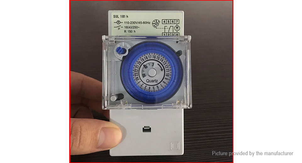 SUL181h Mechanical Programmable Timer Switch Controller