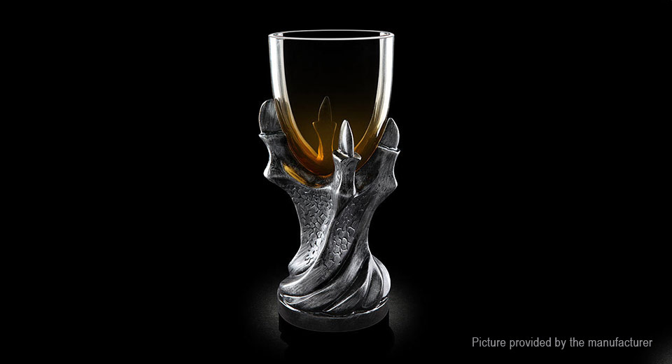 Image of 3D Dragonclaw Styled Resin Wine Cup Goblet (400ml)