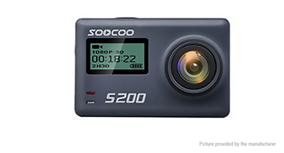 Authentic SOOCOO S200 Wifi 4K HD Sports Action Camera