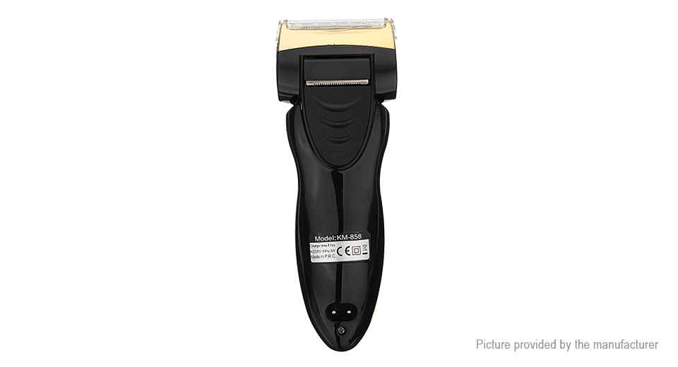 Kemei KM-858 Electric Rechargeable Reciprocating Shaver