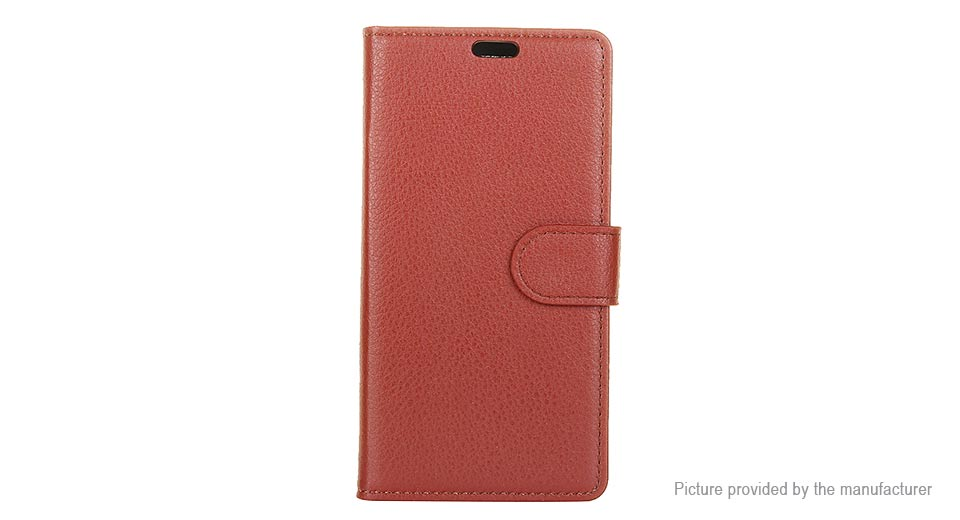 PU Leather Protective Flip-open Back Case Cover for iPhone 8