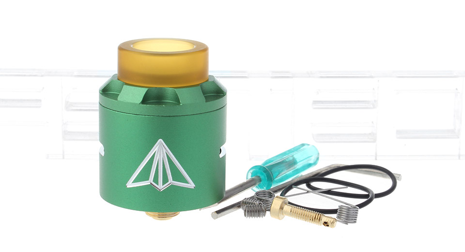 Aircraft Styled BF RDA Rebuildable Dripping Atomizer