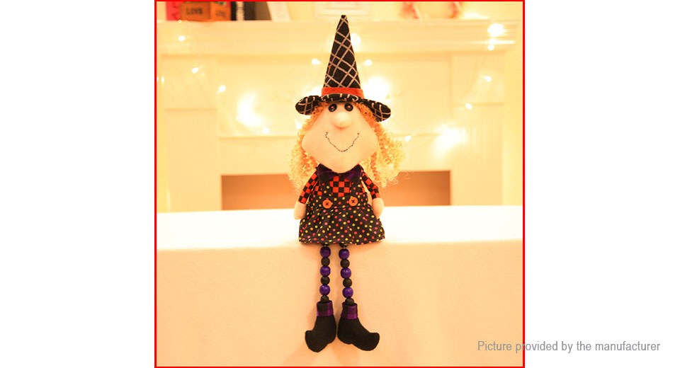 Witch Stuffed Cartoon Doll Plush Soft Toy