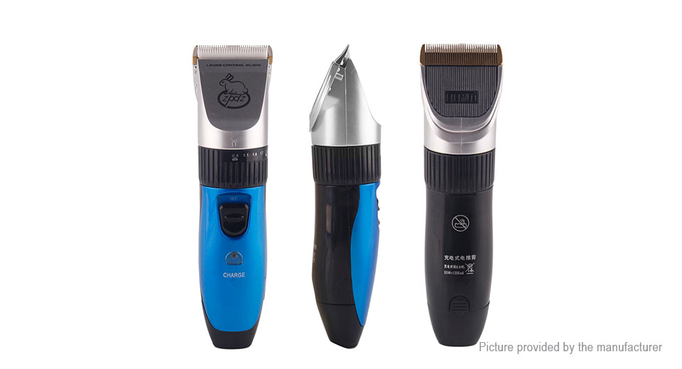 LILI Pet Dog Cat Electric Rechargeable Hair Trimmer Grooming Clipper (US)