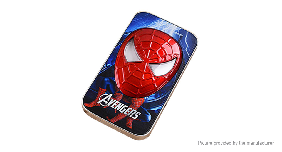 "Spider-Man Styled Mobile Power Bank (3.7V ""12000mAh"")"