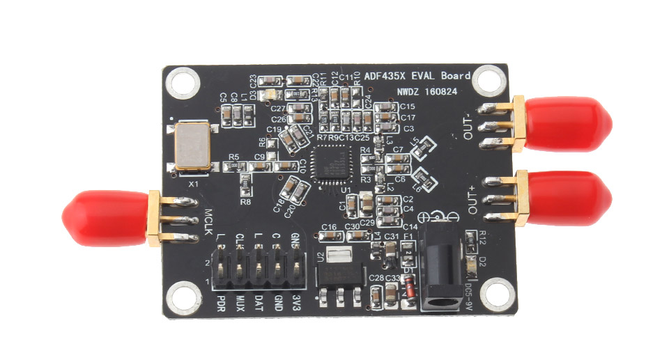 35MHz-4.4GHz PLL RF Signal Source Frequency Synthesizer ADF4351 Development Board