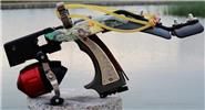 Buy Outdoor Hunting Shooting Catapult Fishing Slingshot, Style A for $86.41 in Fasttech store