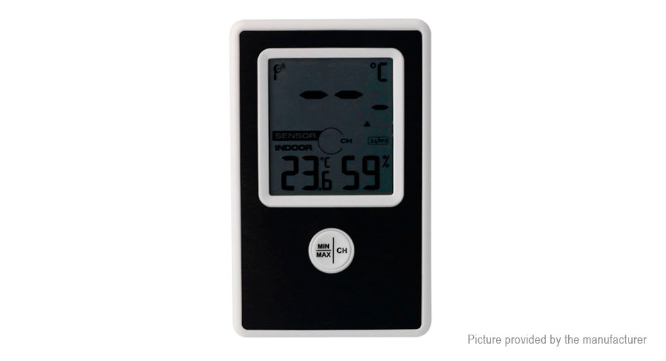 433MHz Indoor Outdoor Wireless Thermometer, TS-WS-43