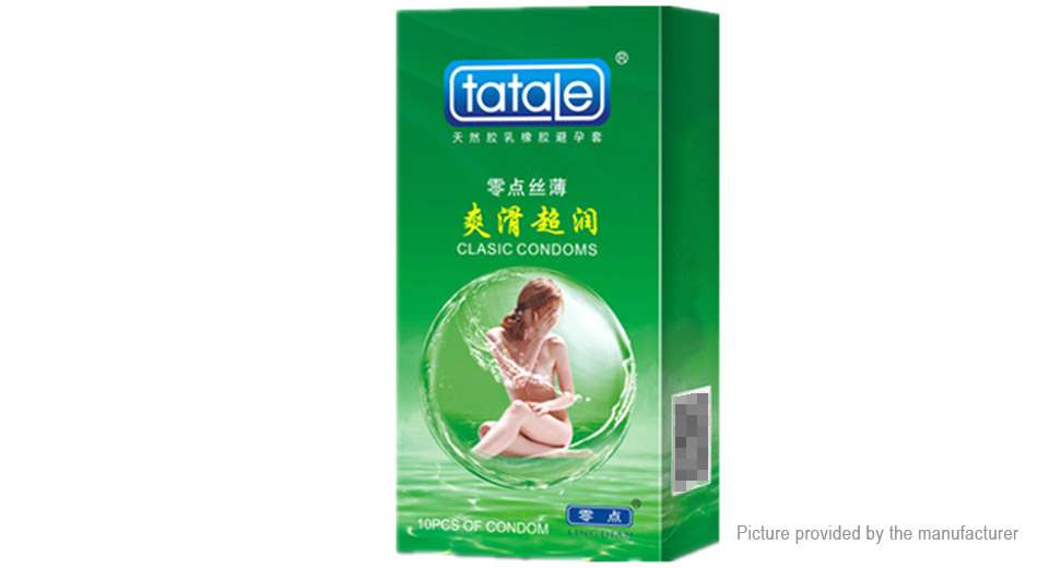 Tatale Natural Latex Rubber Ultra Thin Condom (10-Pack)