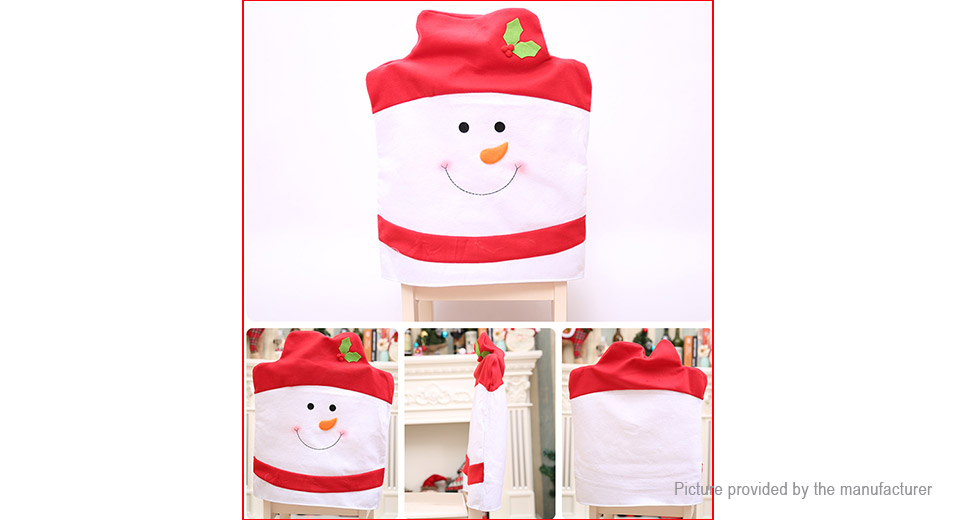 Christmas Chair Seat Cover Home Decor