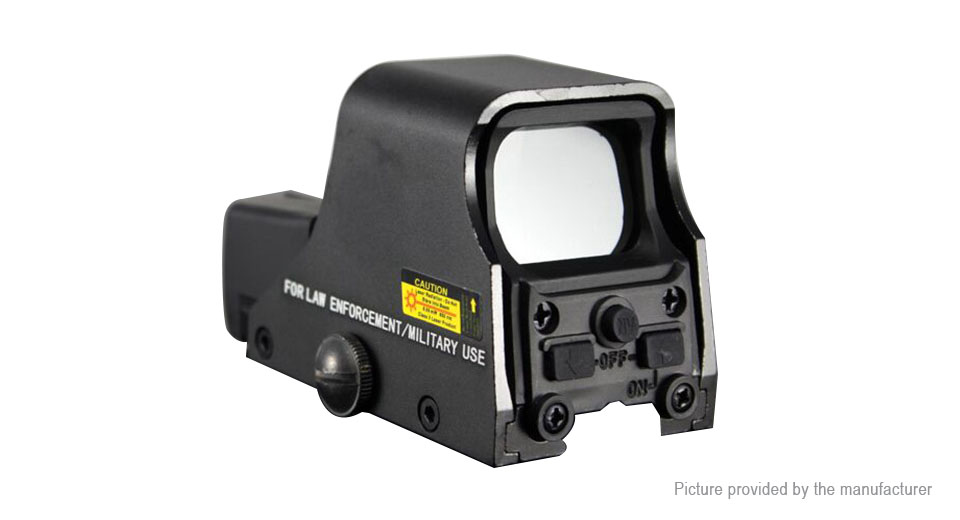 Collimator Holographic Sight Red Dot Optic Sight Reflex Sight for Shotgun