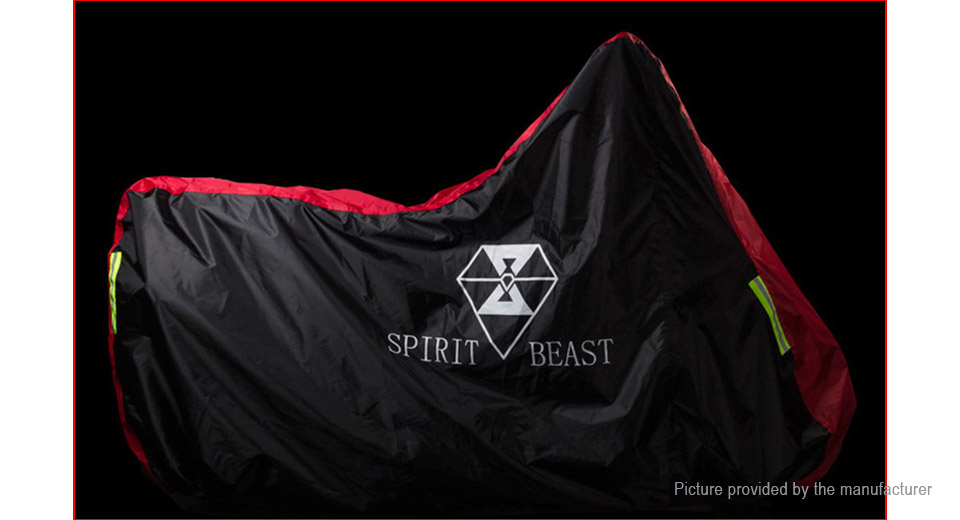Spirit Beast Motorcycle Waterproof Protective Rain Cover (Size L)