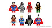 Buy POGO XINH X0167 Super Heroes Series Figures Building Blocks Educational Toy X0167, 8 Pieces