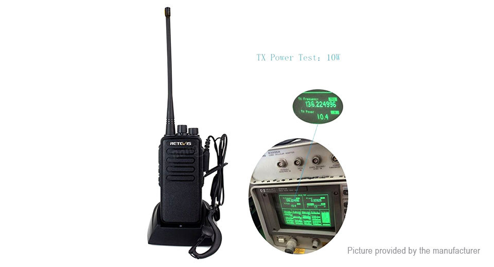 Product Image: authentic-retevis-rt1-vhf-two-way-radio-walkie