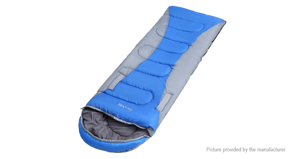 Outdoor Camping Side-open Single Air Sleeping Bag Mattress