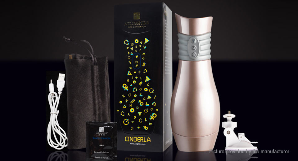 AILIGHTER CINDERLA III Electric Male Vibrating Masturbation Cup Sex Toy