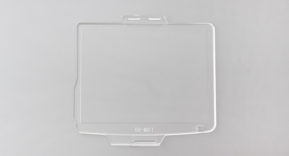 Clear Plastic LCD Screen Protector for Nikon D600/D610