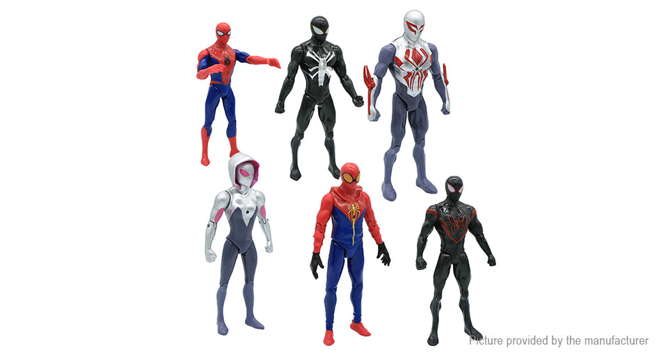 Spider-Man Homecoming Series Action Figure Doll Toy (6 Pieces)