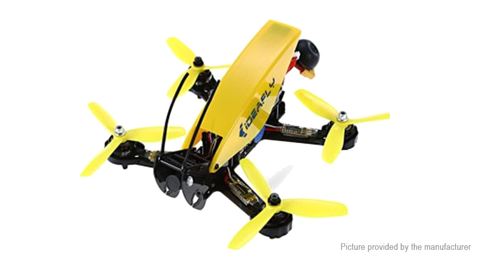 2205 2300KV brushless motor / 2.4GHz remote control / 10CH / self-balancing / altitude hold / 700TVL camera #drone