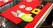 Buy Creative Placemat Plate Table Mat Christmas Decor