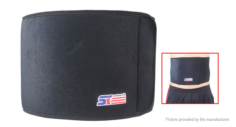 ShuoXin Outdoor Sports Breathable Back Waist Brace Support Belt