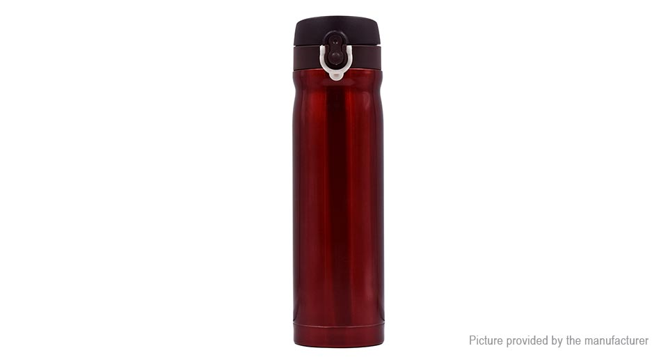 Stainless Steel Thermos Vacuum Mug Travel Water Bottle Cup (500ml)
