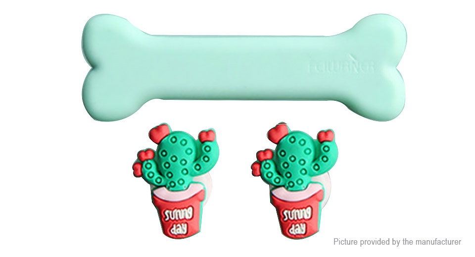 Cactus Styled Magnetic Desktop Cable Clip Wire Organizer