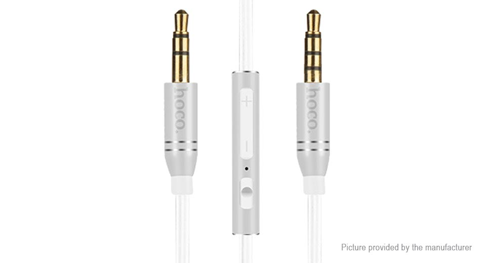 Authentic hoco UPA05 Yueyin Series 3.5mm Flexible Audio Connection Cable (150cm)