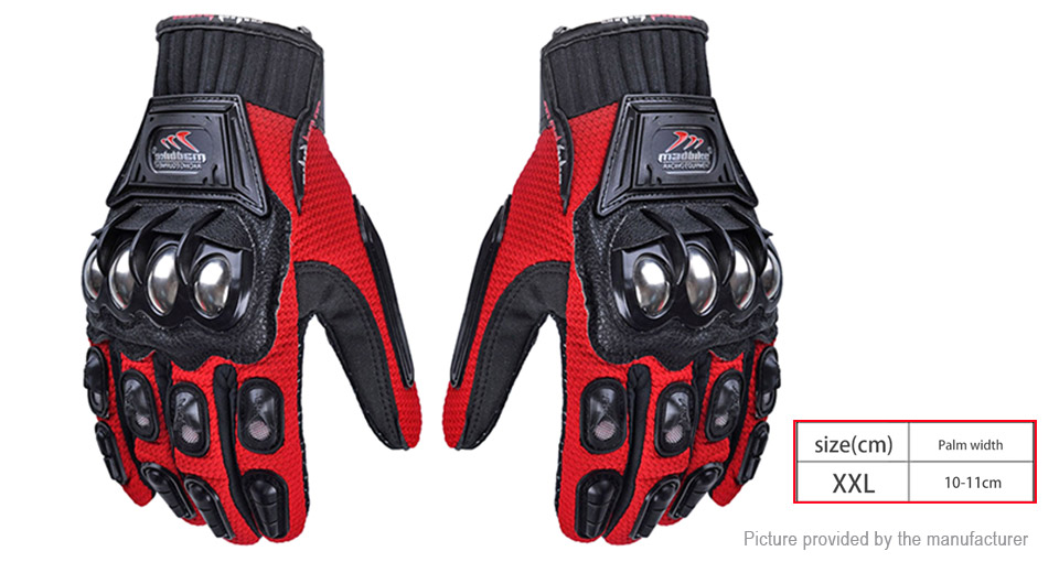 MADBIKE Unisex Outdoor Motorcycle Cycling Full-finger Gloves (Size 2XL/Pair)