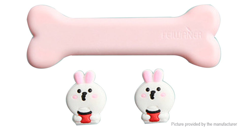 Rabbit Styled Cable Magnetic Desktop Cable Clip Wire Organizer