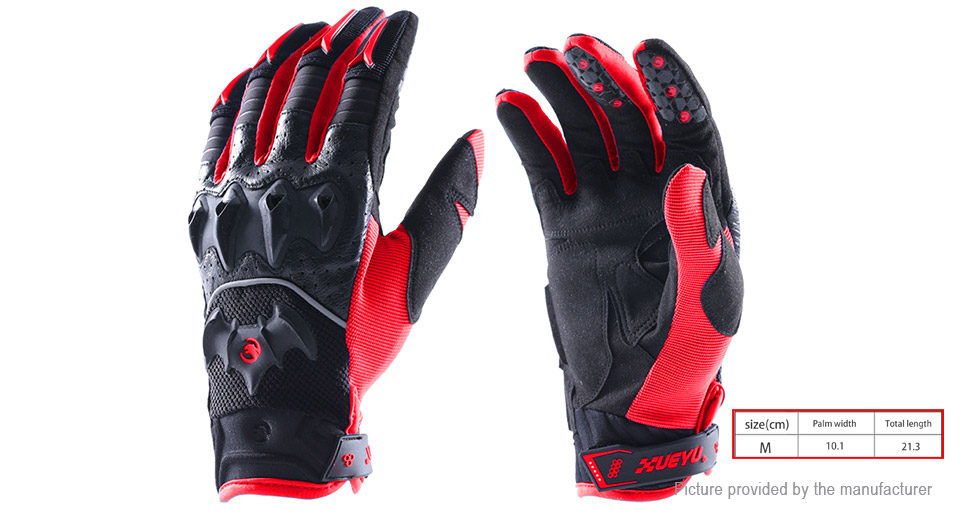 XUEYU Outdoor Motorcycle Cycling Anit-slip Full Finger Gloves (Size M)