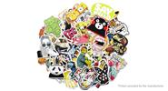 Buy Car Motorcycle Bicycle Skateboard Laptop Luggage Decal Stickers (100 Pieces) Stye R, 100 Pieces for $4.47 in Fasttech store