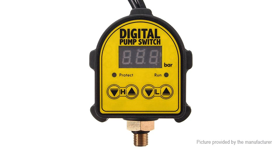 Automatic Digital Pressure Controller Switch for Water Oil Gas Pump
