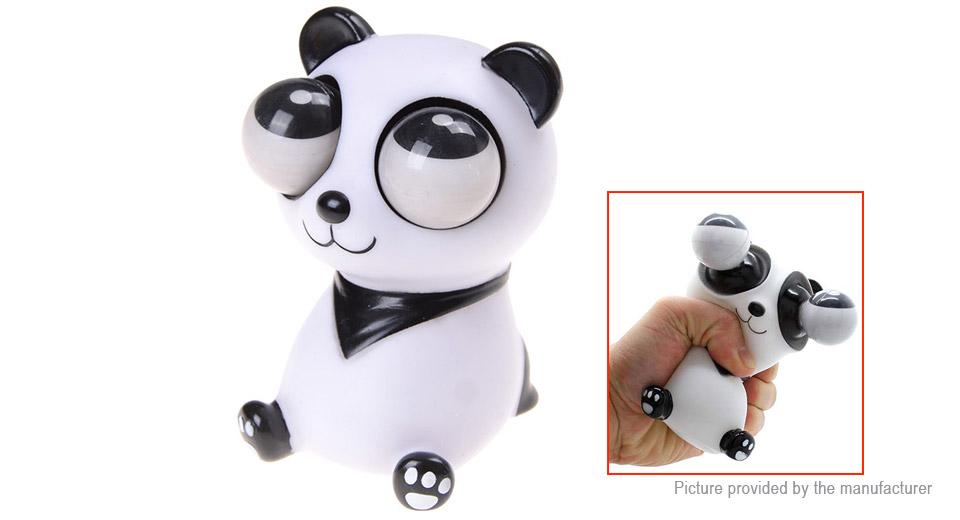 Eyeballs Pop-out Doll Panda Stress Reliever Relief Squeeze Toy