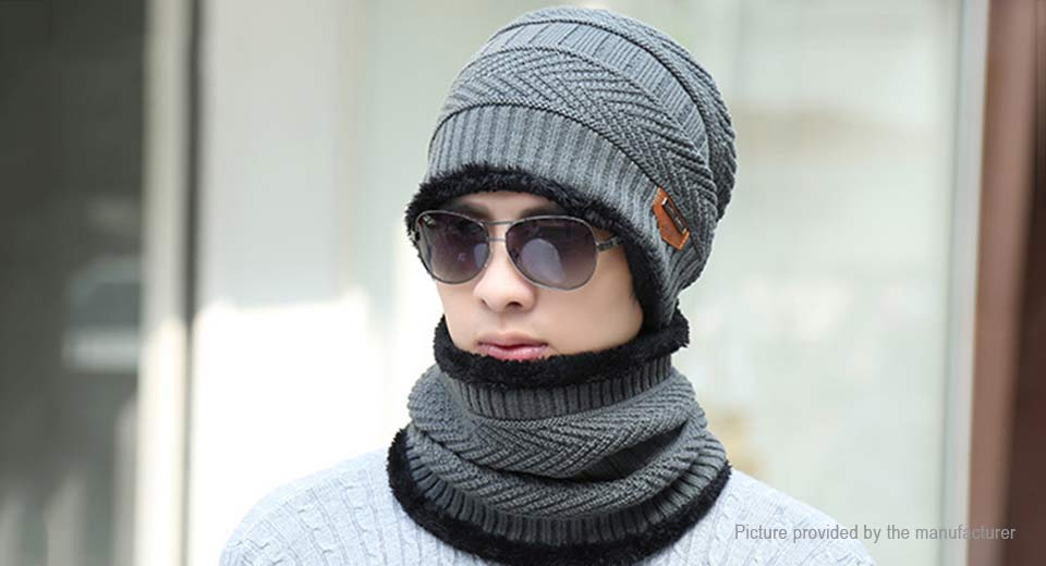 Product Image: men-s-winter-warm-fleece-lined-knit-beanie-cap