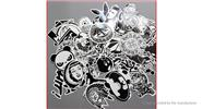 Buy Car Motorcycle Bicycle Skateboard Laptop Luggage Decal Stickers (60 Pieces) Style U, 60 Pieces for $3.32 in Fasttech store